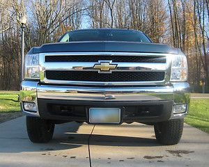 Chevy Silverado 1500 2007 2012 Front LH and RH Bumper Chrome End Caps