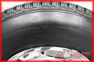 17 CHEVY SILVERADO SIERRA 2500 8 LUG OEM WHEELS FIRESTONE TIRES 2011