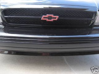 94 95 96 Chevy Impala SS Red Bowtie Emblem Grill Front