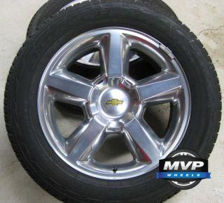 Factory 20 GMC Chevrolet Chevy Silverado Tahoe Suburban Wheels Tires