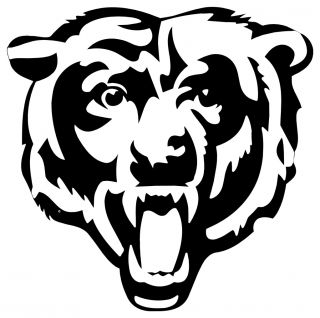 Chicago Bears Vinyl Decal 5 Outdoor / Indoor Sticker * Your Choice Of