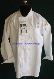 IN PACKAGE SMALL Chef Works CULINARY CHEF COAT COATS JACKET McDonalds