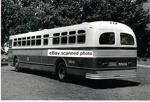 Chicago Transit Authority Bus Photo Flxible Twin Coach CTA