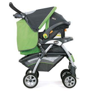 Chicco KeyFit 30 Cortina Stroller Travel System Midori Green