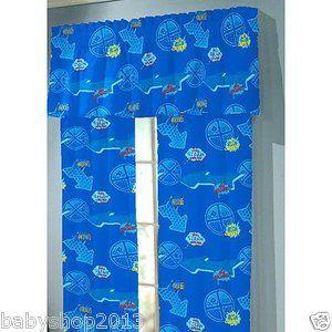 Thomas The Train Window Treatment Curtains Drapes Boys Blue