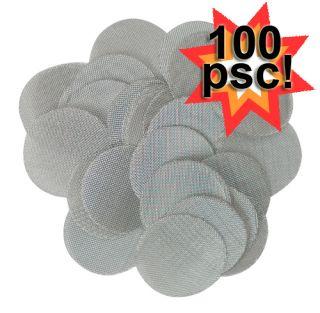 100 5 8 0 625 Stainless Steel Smoking Pipe Screens
