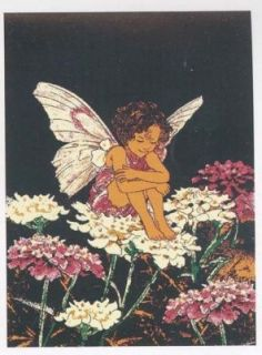 5x8 fairy wings flower cherub angel children rug 681 seal
