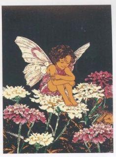 5x8 fairy wings flower cherub angel children rug 681 seal
