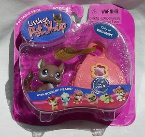 LPS Littlest Pet Shop 314 Brown Chinchilla  NEW Mini Toy