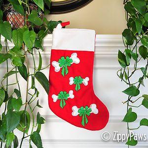 Sample Sale Pet Dog Christmas Stockings Various Designs