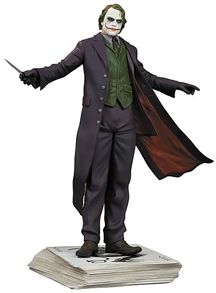Dark Knight Joker Statue DC Heath Ledger MIMB Christopher Nolan