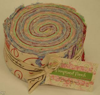 Moda Pampered Pooch 30s Jelly Roll 1930s Fabric Strips