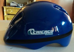 Chicago Skates Child Kids Helmet with Pads Small