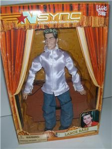 NSYNC Marionette Doll in Box Lance Bass JC Chasez Chris
