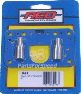 AED Holley 5895 Jet Extension Kit Drag Race NHRA IHRA