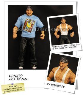 WWE Custom Hunico Mattel Jakks Mistico Sin Cara Legends Figure Deluxe