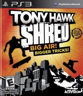 New PS3 Tony Hawk Shred Awesome Skateboarding Game 047875840461