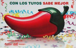 Chilis Gift Card Fiesta Collectible No Value