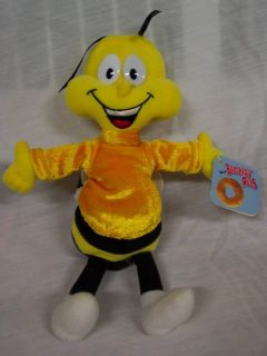 General Mills Breakfast Pals Honey Nut Cheerios Bee Plush Stuffed