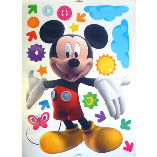 Mickey Mouse Club House Giant Magic 19 Stickers New