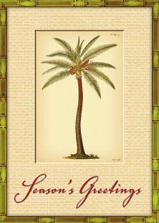 12 Hawaiian Holiday Card Hawaii Christmas Season Palm