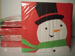 Christmas Holiday Paper Plates and Napkins You Choose