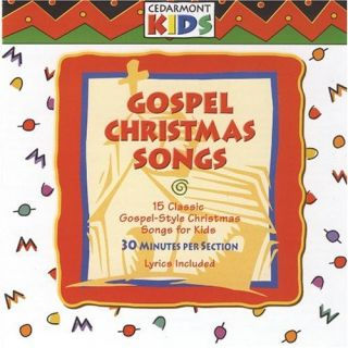 Gospel Christmas Songs Cedarmont Kids Audio CD