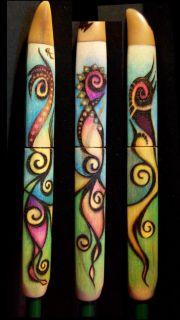 New Burned Earths Magic Original Cindy Adams Spring Design Tri Pen