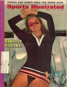 Vintage Sports Illustrated Swimsuit Cheryl Tiegs 1970
