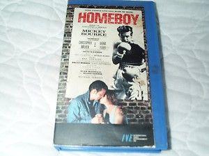 Homeboy VHS Mickey Rourke Christopher Walken Boxing Ruben Blades Eric