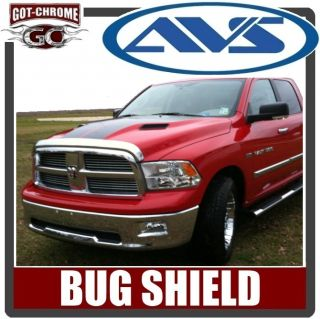 680045 AVS Chrome Bug Deflector Hood Shield Dodge RAM 1500 2009 2012