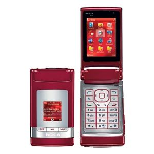Nokia N76 Red Unlocked 3G GSM Camera Cell Phone Quad Band