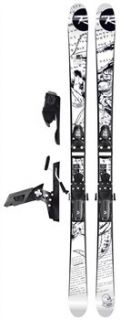 Rossignol S4 + Freeski 120 XL Skis 2009/2010