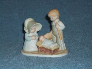 Circle of Friends Figurine Unto Thee O God by Masterpiece 1990