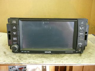 Jeep Dodge Chrysler MyGig Radio Cd DVD SIRIUS REN RBZ LOW SPEED