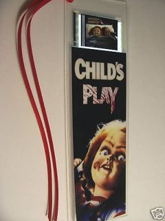 Childs Play Chucky Horror Movie Film Cell Bookmark