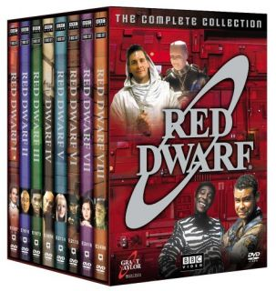 NEW Red Dwarf The Complete Collection DVD (2006, 18 Disc Set) NTSC