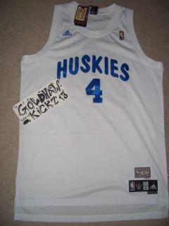 Chris Bosh Toronto Raptors Huskies HWC Adidas Jersey