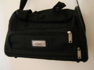 CIAO*BLACK*15 CARRY ON DUFFLE*TRAVEL*MESSENGER LUGGAGE BAG