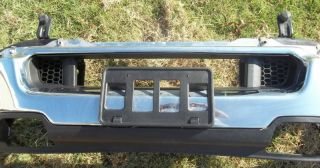 06 Ford F150 Lariat CHROME Front Bumper w/ Accessories   EXCELLENT