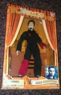 Chris Kirkpatrick N Sync Collectible Marionette Doll 10 Tall