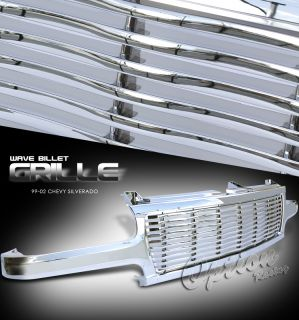2000 2006 CHEVY TAHOE/SUBURBAN WAVE BILLET STYLE CHROME GRILLE