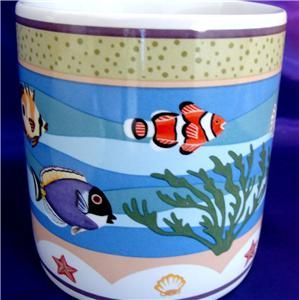 Coral Reef Claire Murray Sakura Ocean Fish 1 Coffee Mug