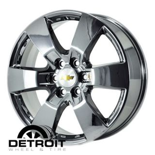 CHEVROLET TRAVERSE 2009 2011 PVD Bright Chrome Wheels Rims Factory