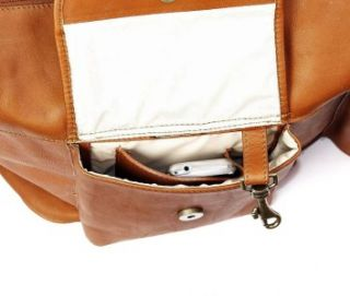 clairechase versailles premium leather duffle bag