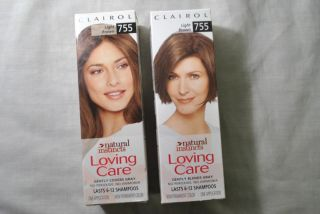 Clairol Natural Instincts Loving Care Light Brown 755 Volumizeing Hair
