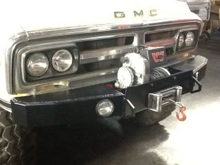 Custom 1967 1972 Chevrolet and GMC Truck Winch Bumper