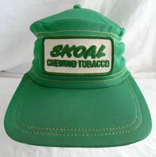 Vintage Skoal Chewing Tobacco Hat Baseball Cap Snapback Trucker