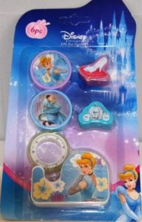 Disney Princess Cinderella Party Favor Fun Kit 6PAK