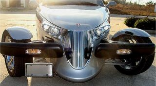 Chrysler Plymouth Prowler High Polished Stainless Steel Front Grille